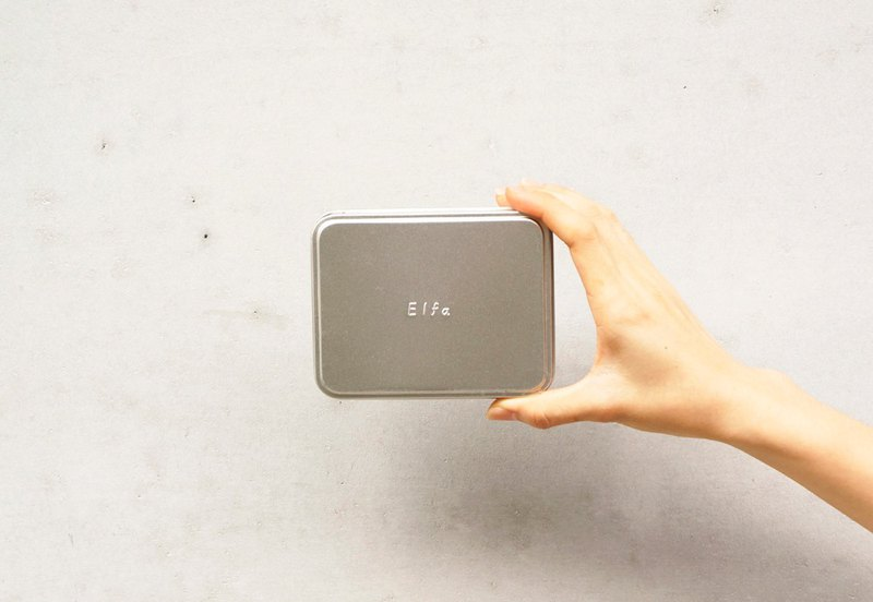 Direct purchase of fog silver tin box (expressing customer ex: Elfa)