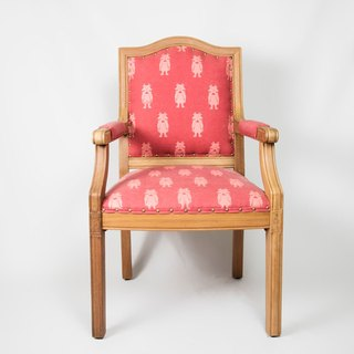 Old Chair Freshman Wizard of Oz Dorothy Woodfabric Chair fafa papercutting X Tang Qing Antiquities Store Limited Co-branded cooperation