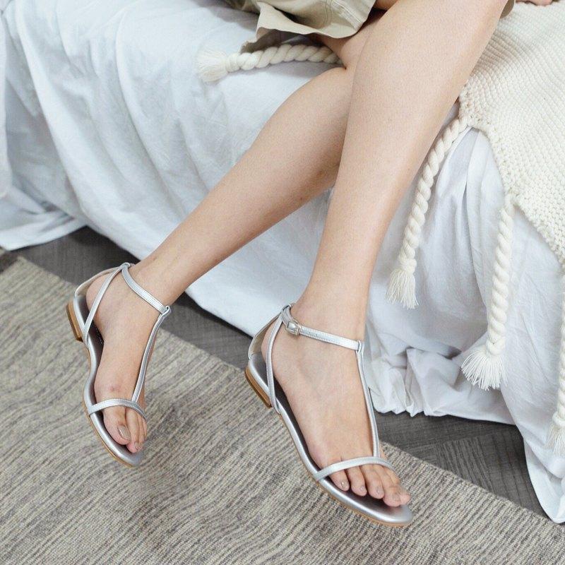 梅根涼鞋(銀色)