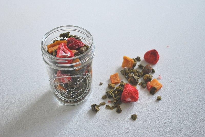 抹茶草莓燕麥脆脆