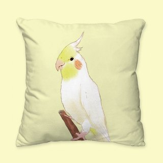 [I will love you forever] classic cockatiel pillow animal pillow / pillow / cushion