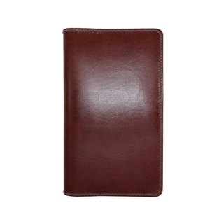 Travel diary notebook / hand dyeing / double needle hand sewing / custom / Italian vegetable tanned leather