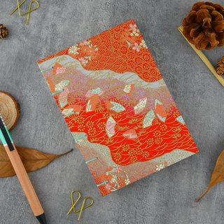 中红花海-A6 manual notebook / PDA / diary / photo album / log / gift
