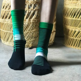 socks_speamint / irregular / socks  / green