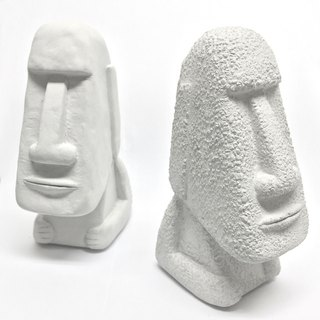 Cement Moai dum dum (large) _ gray