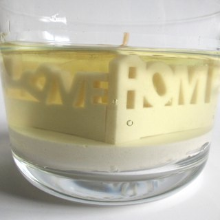 Micro-scented scented candle - candle wax Love Taipei Love home