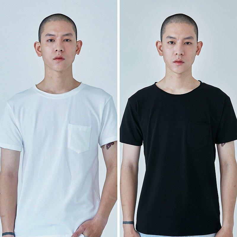 Journey | 彈性口袋短袖 (黑白兩色)