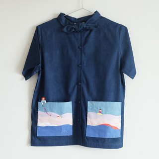 Baby Shark - Denim Shirt