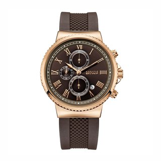 EUROPE SPECIAL EDITION Collection - MILANO Brown Rose Gold Dial / Brown Silicone