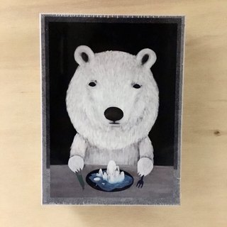 emmaAparty Illustration Puzzle: Polar Bear (520 Pieces)