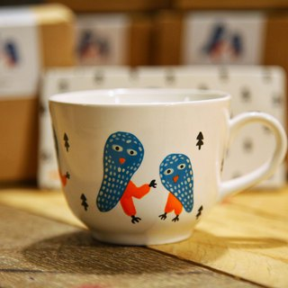 Midnight Owl Tea Cup