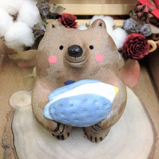 Love Bear Festival Series - Ostrich and Coffee Bear