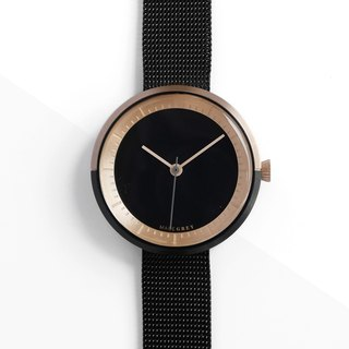 TWO-TONE BLACK MG003 MINI | MESH BAND