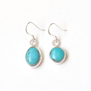 American turquoise sterling silver earrings American turquoise silver earrings