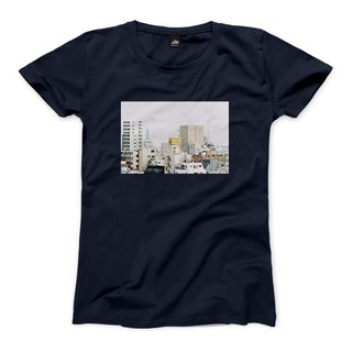 In organic - Navy - Women's T-Shirt