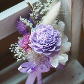 Amaranth mix of dried flowers - corsage*exchange gifts*Valentine's Day*wedding*birthday gift