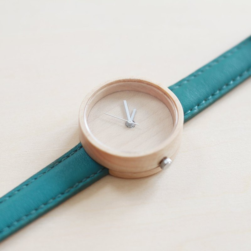 Wood Collection | Minimalist Handmade Watch Made of Wood – Mountain