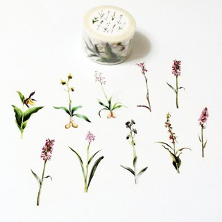 Masking Tape Orchid Grass