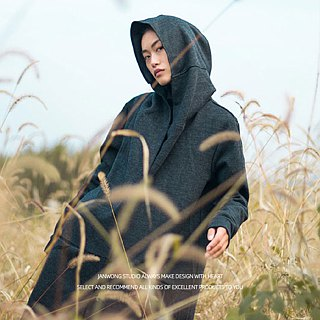Cashmere cardigan cloak neutral section coat dark pioneer style coat universal commuter models (cash models)