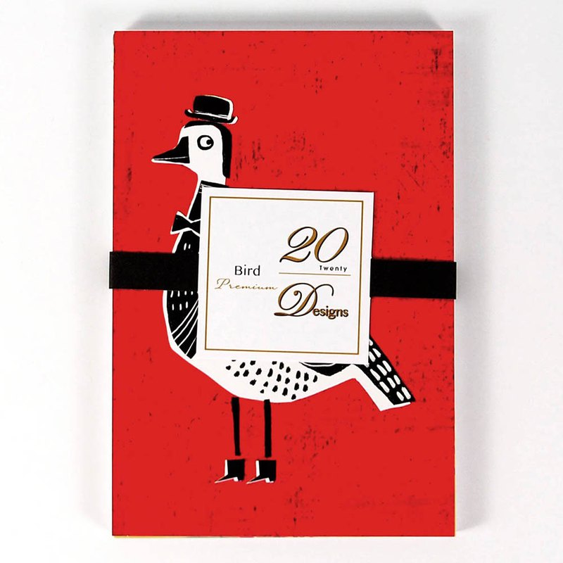 Bird design postcards 20 into [Hallmark-postcards]