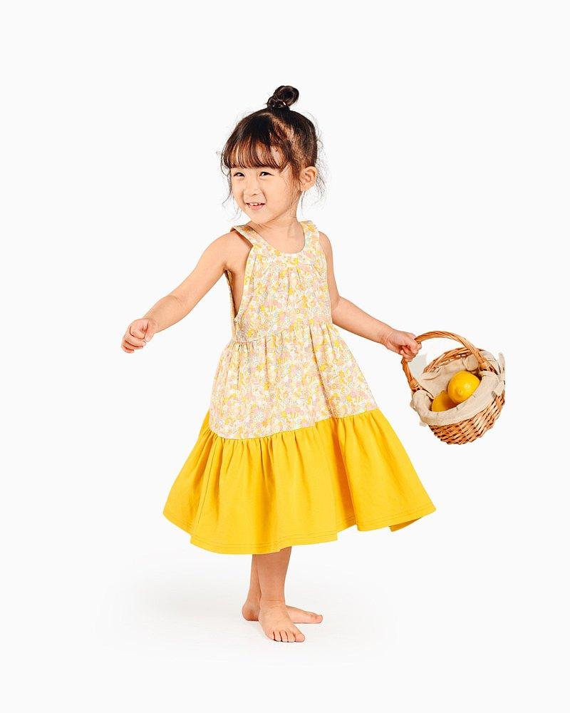 糖果連衣裙 (橙黃色)