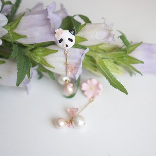 | One-corner forest | Sakura and Panda's dormant pair of ear/ear clips