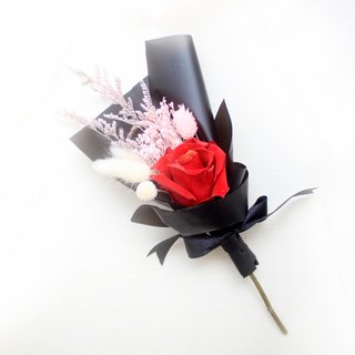 Deep love classical bouquet, eternal rose dry flower ceremony