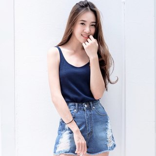 Air tank top - navy
