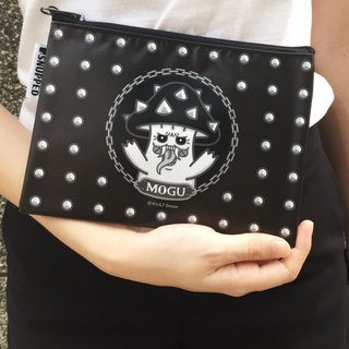 SNUPPED-Dark MOGU-Zipper Bag