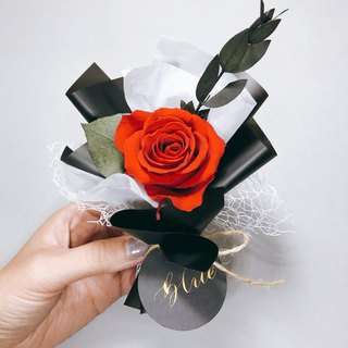 Imported small bouquets of roses without a bouquet of custom names dry flowers wedding small gifts Valentine's Day