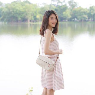 Crossbody Bags Little Tan Width Bags Hand Woven Cotton Natural Color