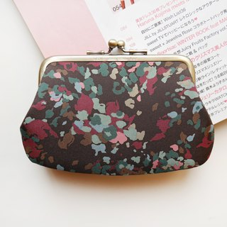 Occasionally の travel population gold buns mother bag / coin purse [made in Taiwan]