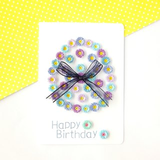 Hand made decorative cards-Birthday card