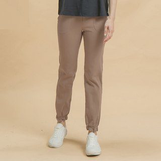 a la sha+a bundle mouth fit pants - coffee