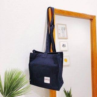 HONEY TOAST BAG : NAVY COLOR