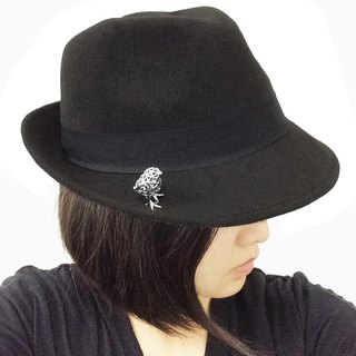 Spherical chick hat pin or broach SV925【Pio by Parakee】