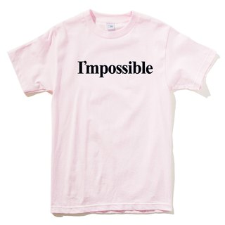 I'mpossible pink t shirt