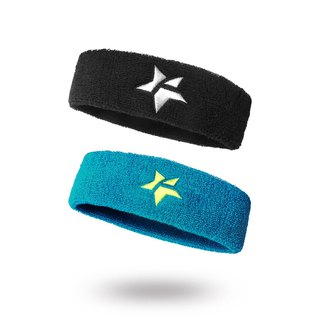 Fun Sport stars to the elastic sports headband-2 into / hair band / anti-sweat belt