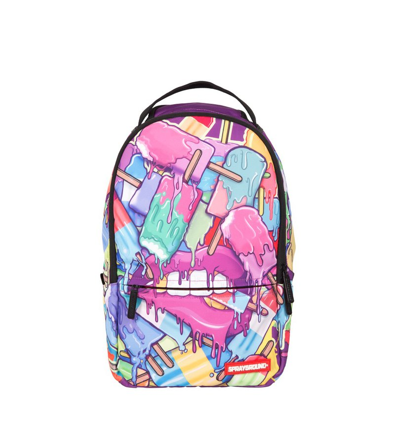 f12b03d7afe8 【SPRAYGROUND】 DLX Mini Series Lil Popsicle Grillz melted popsicle mini  trend backpack