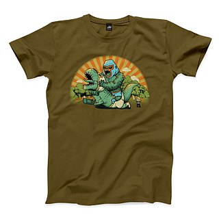 To hold the storm - Army Green - Neutral T-shirt
