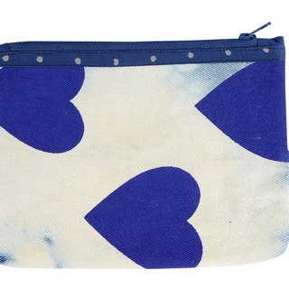 Sharing of Kindness Denim Pouch