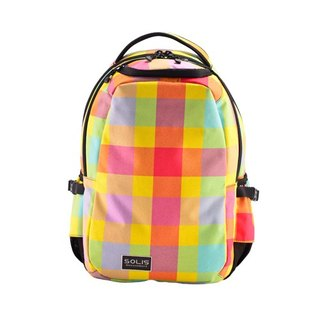 "SOLIS Mosaic Series 13"" Ultra+ basic laptop backpack(baby yellow)"