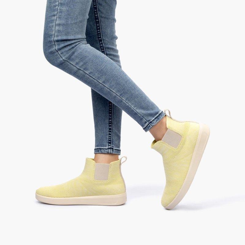 (女款)切爾西短靴/淺黃