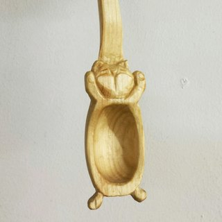 Most sigh snooze cat wooden spoons