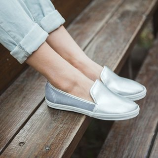 """Baby Day"" Silver charm --WOMEN paragraph MIT comfort casual shoes shoes paternity"