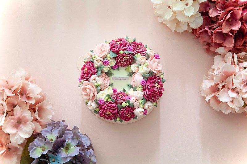 【5/13後恢復供應】 6吋 暖馨媽咪/康乃馨/母親節蛋糕/花蛋糕/5-7