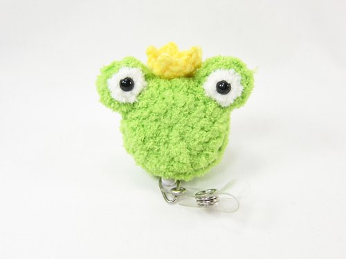 Prince Frog - Frog - Retractable Ticket Holder - Document Holder