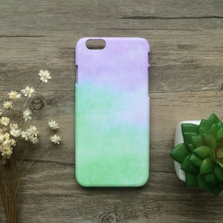 Green and Purple Colud. Matte Case( iPhone, HTC, Samsung, Sony, LG, OPPO)