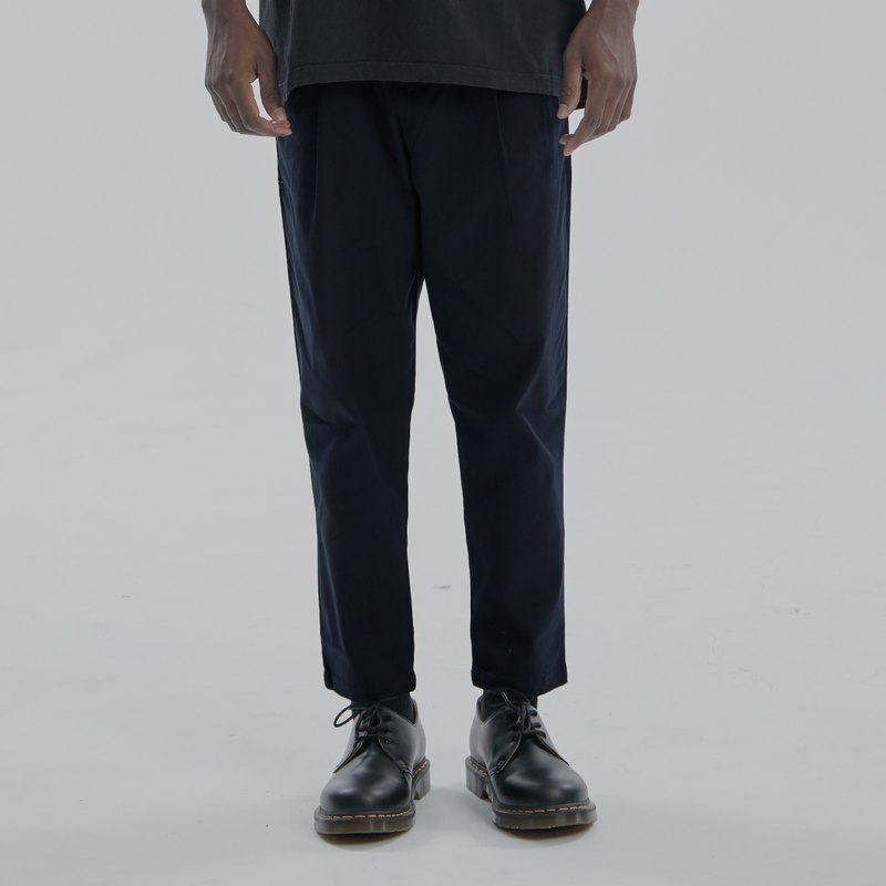 DYCTEAM - 寬版九分錐形褲 Ankle Length Pants (DB)