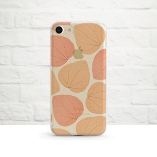 Late- Autumn Vibes- Clear Soft Phone Case, iPhone X, iPhone 8, iPhone 7, iPhone 7 plus, iPhone 6, iPhone SE, Samsung